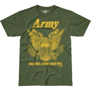 Koszulka T-shirt 7.62 Design Army Retro Battlespace Military Green
