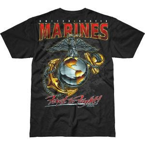 Koszulka T-shirt 7.62 Design USMC Eagle, Globe & Anchor Battlespace Czarna