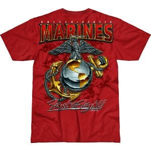 Koszulka T-shirt 7.62 Design USMC Eagle, Globe & Anchor Battlespace Scarlet