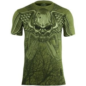 Koszulka T-shirt 7.62 Design USMC Recon Swift Silent Deadly Military Green