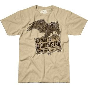 Koszulka T-shirt 7.62 Design Welcome To Afghanistan Sand