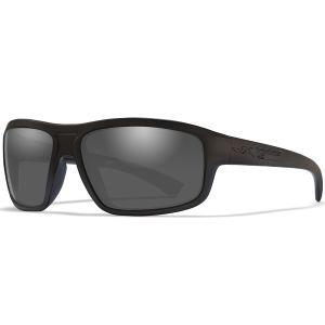 Okulary Taktyczne Wiley X WX Contend - Smoke Grey - Czarne
