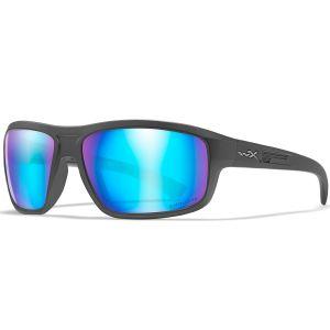 Okulary Taktyczne Wiley X WX Contend - Captivate Polarized Blue Mirror - Matte Graphite