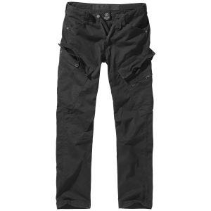 Spodnie Brandit Adven Slim Fit Czarne