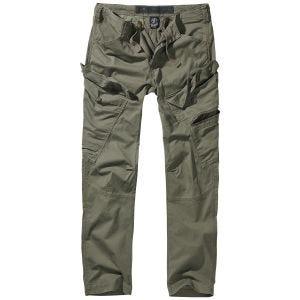 Spodnie Brandit Adven Slim Fit Oliwkowe
