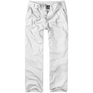 Spodnie Brandit Brady Białe
