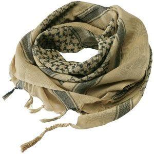 Chusta Arafatka Brandit Shemag Khaki / Czarna