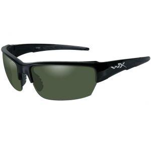 Okulary Taktyczne Wiley X WX Saint - Polaryzacyjne - Czarne