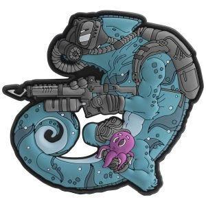 Naszywka Patchlab Chameleon Diver Niebiesko-Czarna