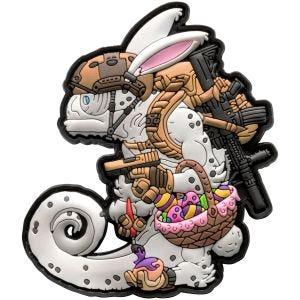 Naszywka Patchlab Chameleon Easter Operator Biało-Coyote