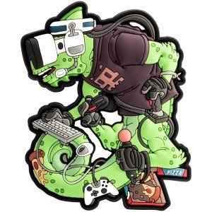 Naszywka Patchlab Chameleon Gamer Operator Zielona
