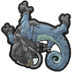 Naszywka Patchlab Halo Chameleon Niebiesko-Czarna