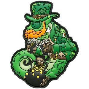 Naszywka Patchlab Chameleo St. Patrick Zielona