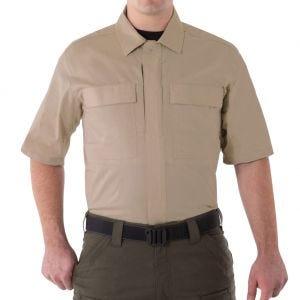 Koszula First Tactical Men's V2 Krótki Rękaw BDU Khaki