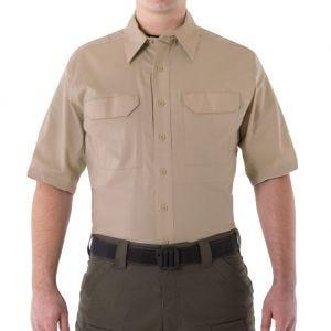 Koszula First Tactical Men's V2 Krótki Rękaw Tactical Khaki