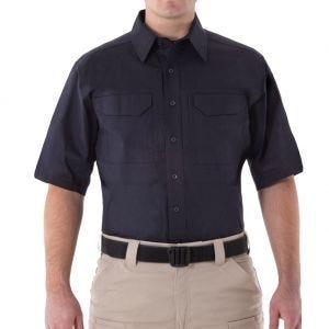 Koszula First Tactical Men's V2 Krótki Rękaw Tactical Midnight Navy