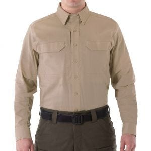 Koszula First Tactical Men's V2 Długi Rękaw Tactical Khaki
