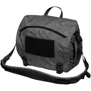 Torba Helikon Urban Courier Bag Duża Melange Black-Grey