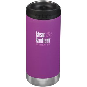 Termos Klean Kanteen TKWide 355ml Cafe Cap 2.0 Bright Berry