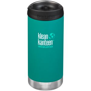 Termos Klean Kanteen TKWide 355ml Cafe Cap 2.0 Emerald Bay