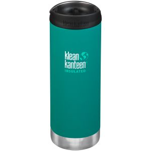 Termos Klean Kanteen TKWide 473ml Cafe Cap 2.0 Emerald Bay