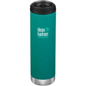 Termos Klean Kanteen TKWide 591ml Cafe Cap 2.0 Emerald Bay
