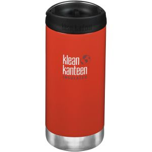 Termos Klean Kanteen TKWide 355ml Cafe Cap Post Box Red