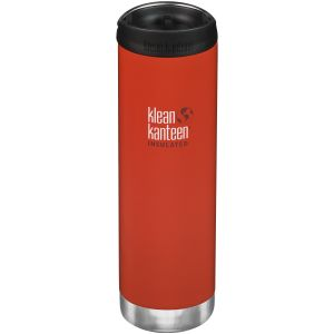 Termos Klean Kanteen TKWide 591ml Cafe Cap Post Box Red