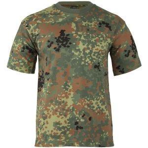 Koszulka T-shirt MFH Flecktarn