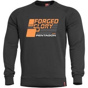 Bluza Pentagon Hawk Sweater Forged for Glory Czarna