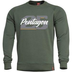 Bluza Pentagon Hawk Sweater Twenty Five Camo Green