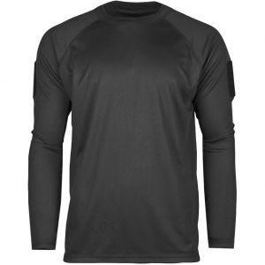 Koszulka Mil-Tec Tactical Quick Dry Długi Rękaw Czarna