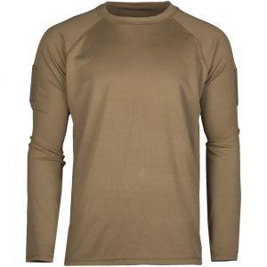 Koszulka Mil-Tec Tactical Quick Dry Długi Rękaw Dark Coyote