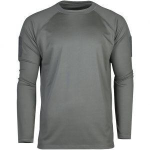 Koszulka Mil-Tec Tactical Quick Dry Długi Rękaw Urban Grey