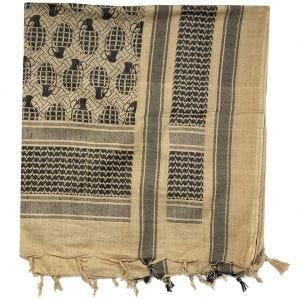 Chusta Arafatka Mil-Tec Shemagh Pineapple Coyote-Czarna