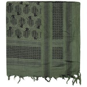 Chusta Arafatka Mil-Tec Shemagh Pineapple Oliwkowo-Czarna