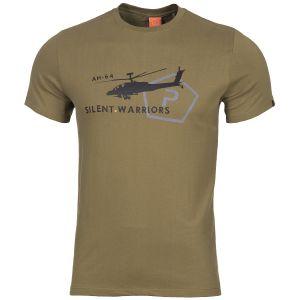 Koszulka T-shirt Pentagon Ageron Helicopter Coyote