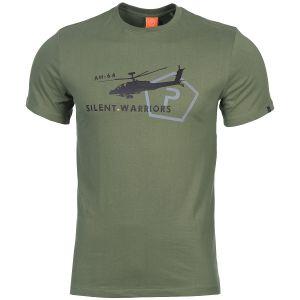 Koszulka T-shirt Pentagon Ageron Helicopter Oliwkowa