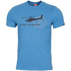 Koszulka T-shirt Pentagon Ageron Helicopter Pacific Blue