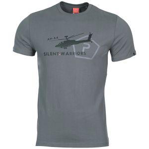 Koszulka T-shirt Pentagon Ageron Helicopter Wolf Grey