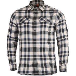 Koszula Flanelowa w Kratkę Pentagon Drifter Off White