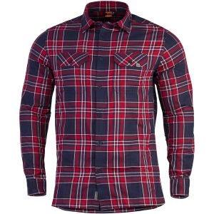 Koszula Flanelowa w Kratkę Pentagon Drifter Czerwona