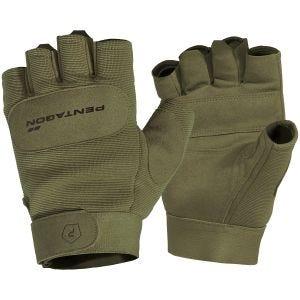 Rękawice Taktyczne Pentagon 1/2 Duty Mechanic Oliwkowe