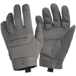 Rękawice Taktyczne Pentagon Duty Mechanic Wolf Grey