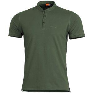 Koszulka Pentagon Levantes Henley Shirt Camo Green