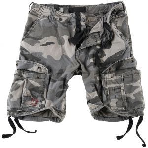 Szorty Surplus Airborne Vintage Washed Night Camo