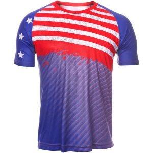 Koszulka Termoaktywna Tervel Sportline Krótki Rękaw USA