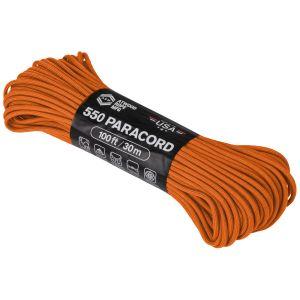 Linka Atwood Rope 100ft 550 Burnt Orange
