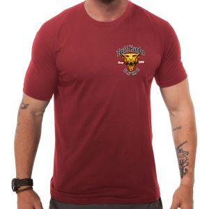 Koszulka T-shirt 7.62 Design USMC Devil Dog Red