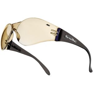 Okulary Taktyczne Bolle Bandido - Clear - Brązowe